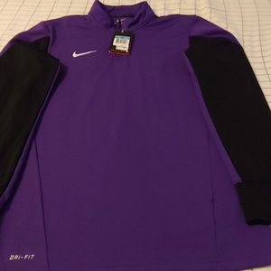 Men's Nike pullover half zip size medium